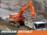 Запасные части экскаваторов Doosan DX700LC