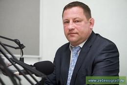 заместитель префекта Зеленограда Олег Панин